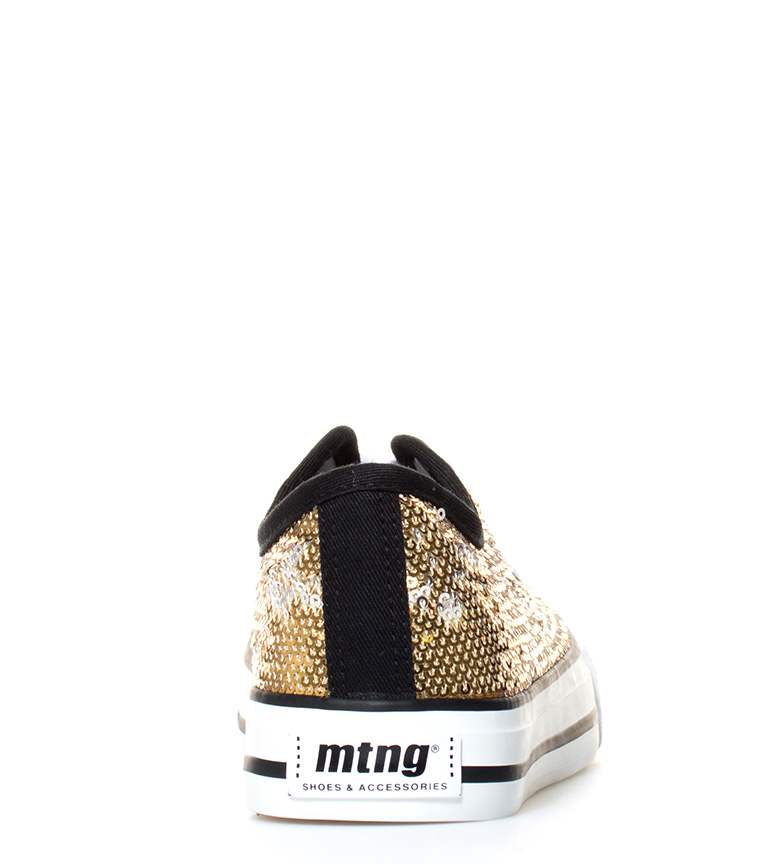 oro oro Chica Trend Low Mustang Chica Mustang Zapatillas Low Zapatillas Trend qUdpTqxC