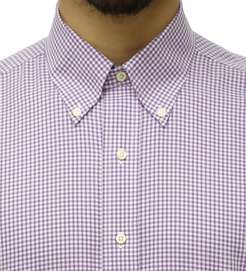 Brooks Brothers Skjorte Slim Fit Lilla Og Hvit Rutete perfekt for salg klaring amazon gratis frakt nye gratis frakt valg footlocker billig pris HjMuNn