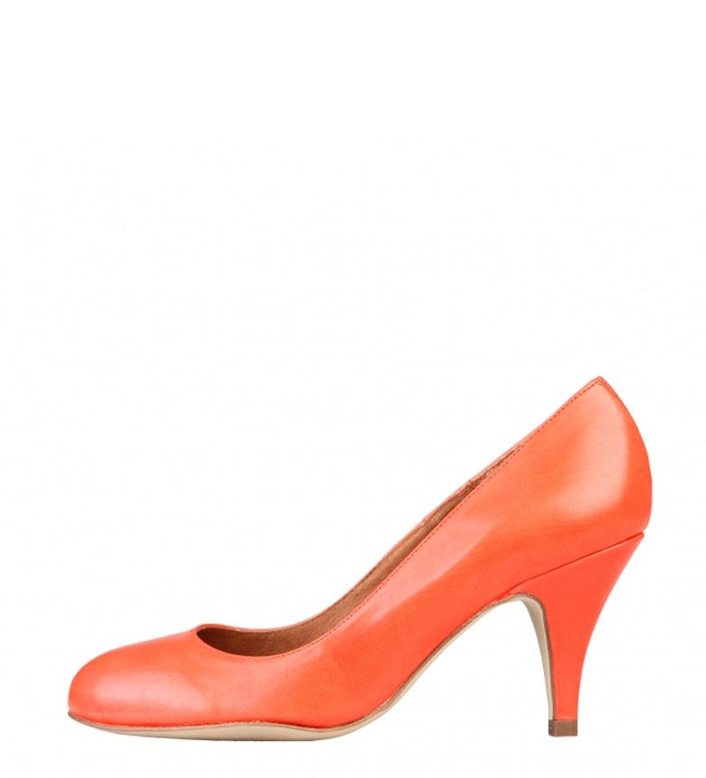 coral piel Toscani Zapatos 8cm Altura br de tacón color Arnaldo br Xwx7X