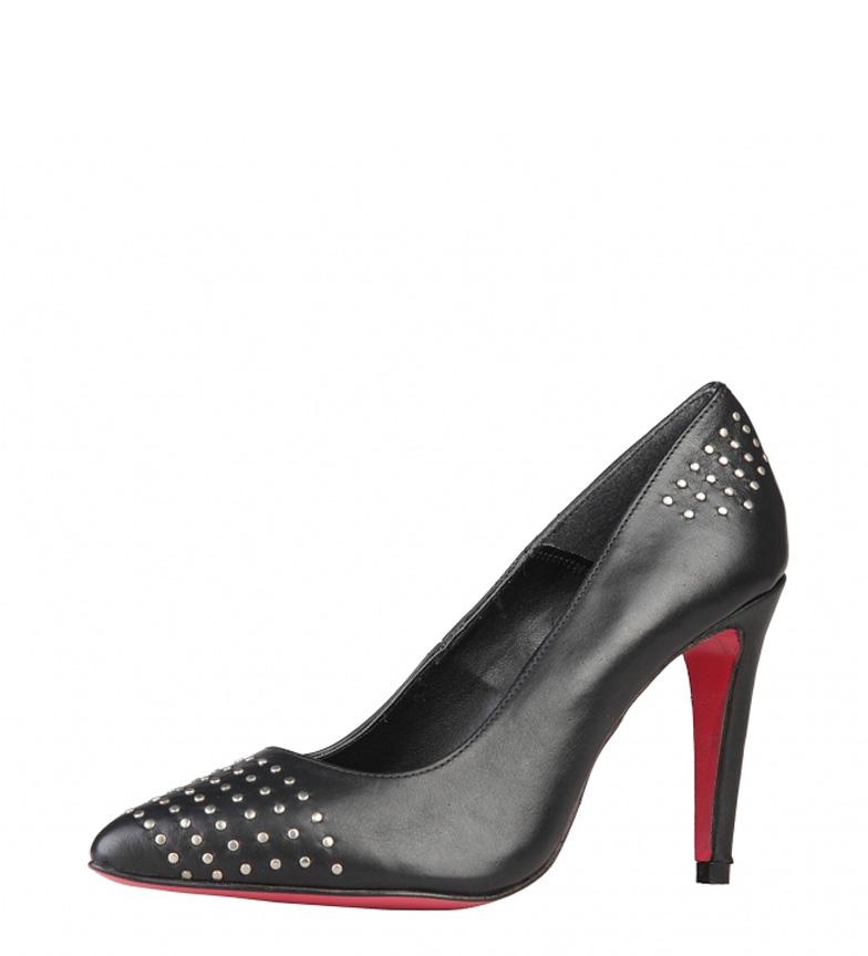 Zapatos color tacón piel br 9 negro 5cm Arnaldo br de Toscani Altura 5znZf