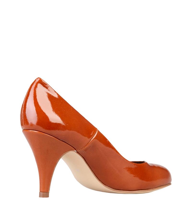 Altura tacón br br piel caramelo 8cm color Toscani charol Zapatos Arnaldo de wqg6AnU