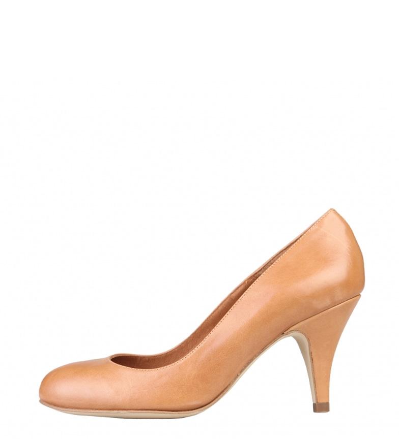 Zapatos Piel Color Camelaltura Arnaldo Toscani Tacn8cm De TKculJ53F1
