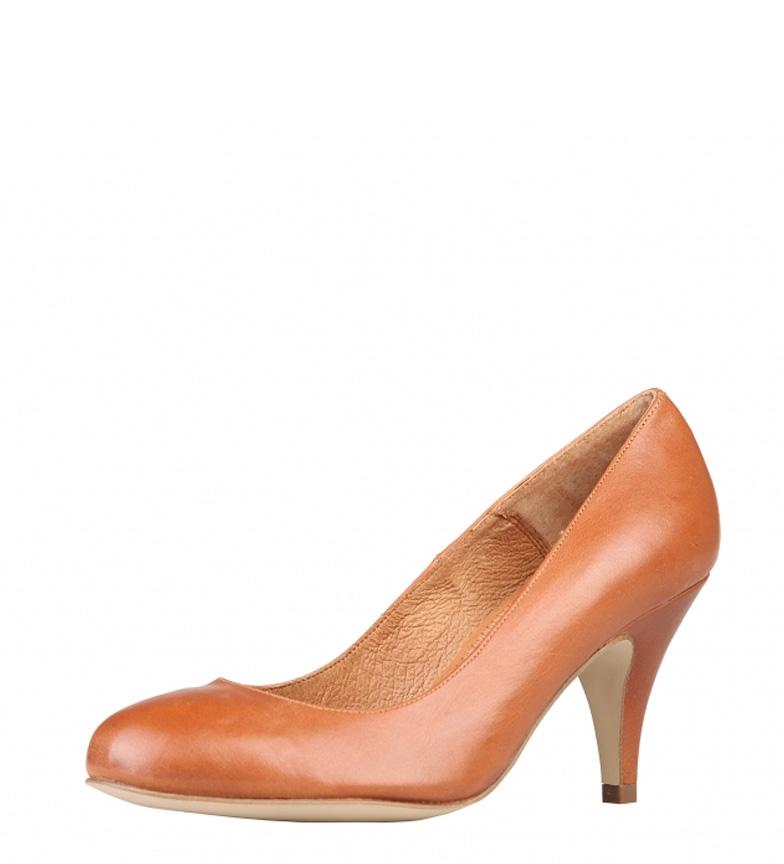 Zapatos br tacón piel br Altura Arnaldo caramelo Toscani color de 8cm S6YxTS5Zqw