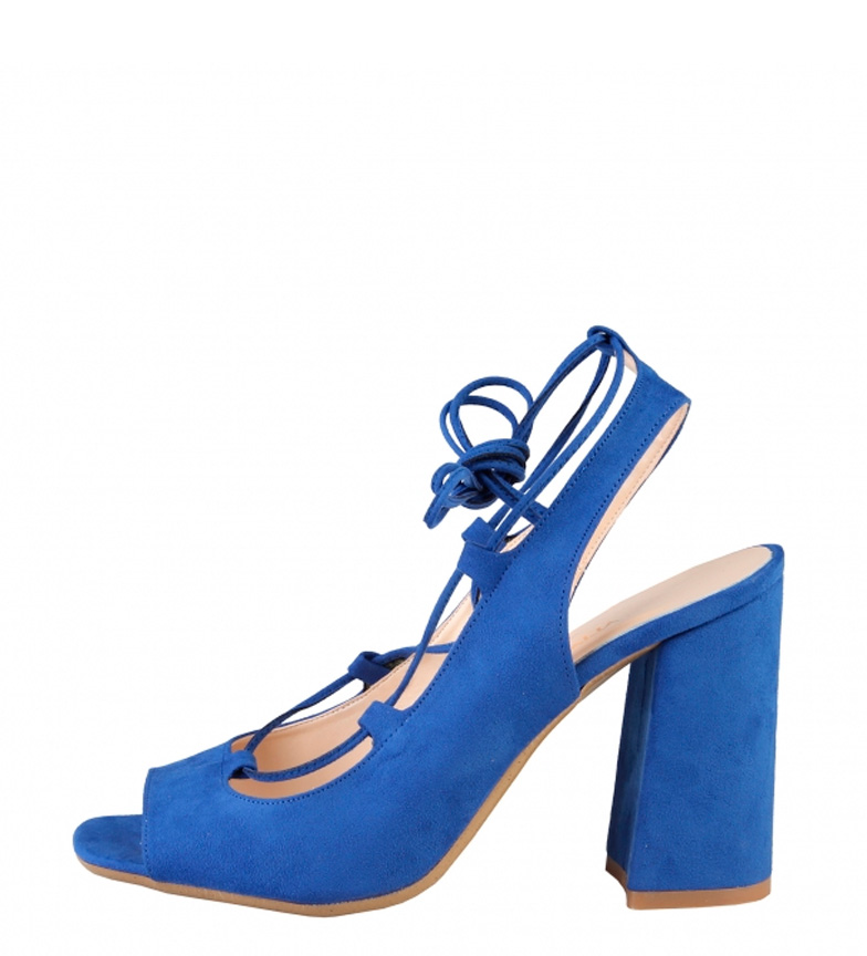 Comprar Made In Italia Sandals Pretty blue -Heel height: 9cm-