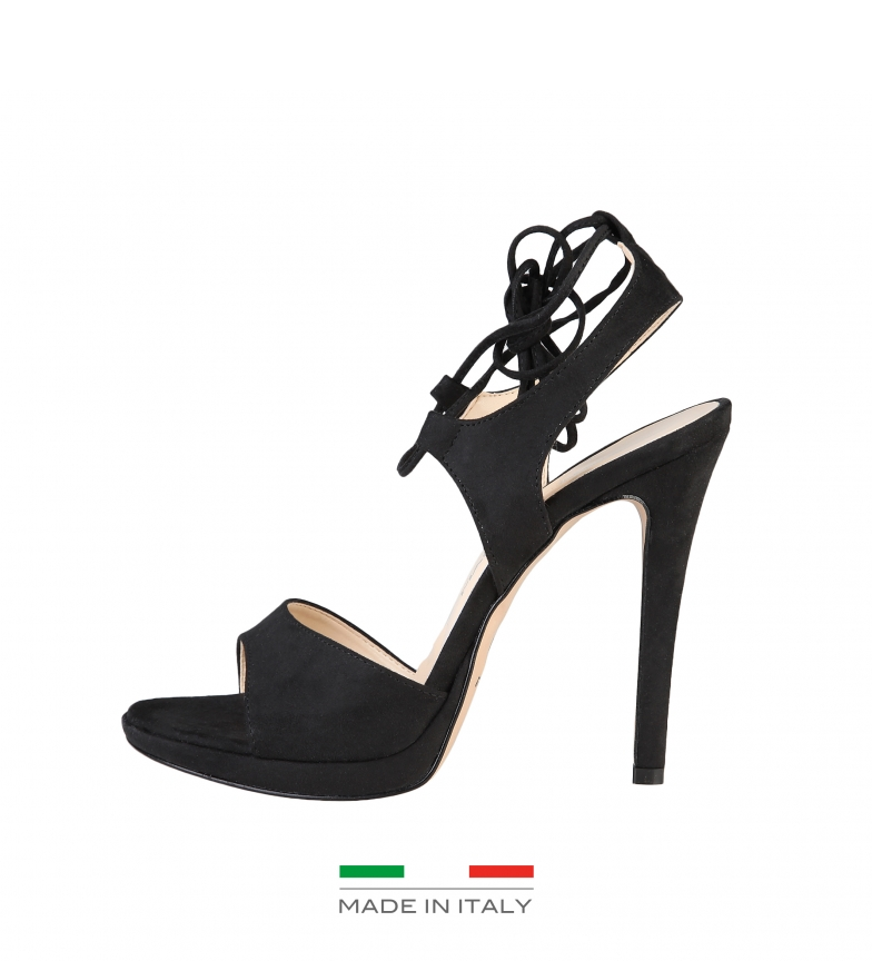 Comprar Made In Italia Sandali con tacco nere Erica -Altezza: 10cm-