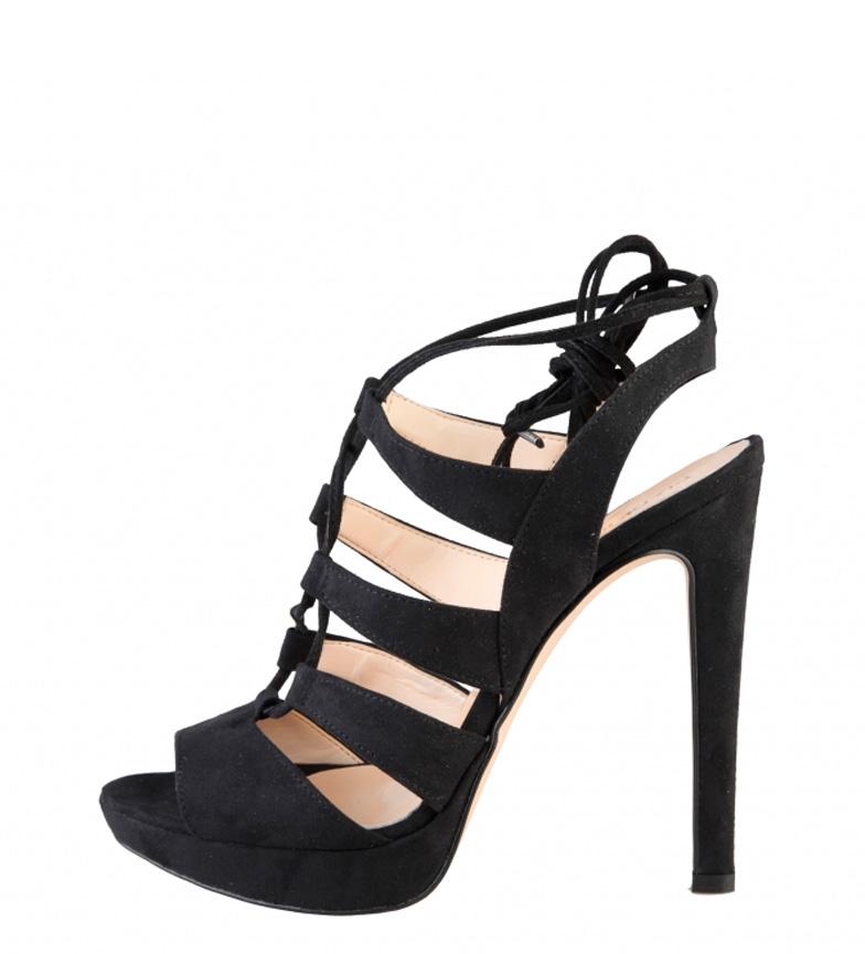 Comprar Made In Italia Sandali con tacco nere Flaminia -Altezza: 12,5cm-