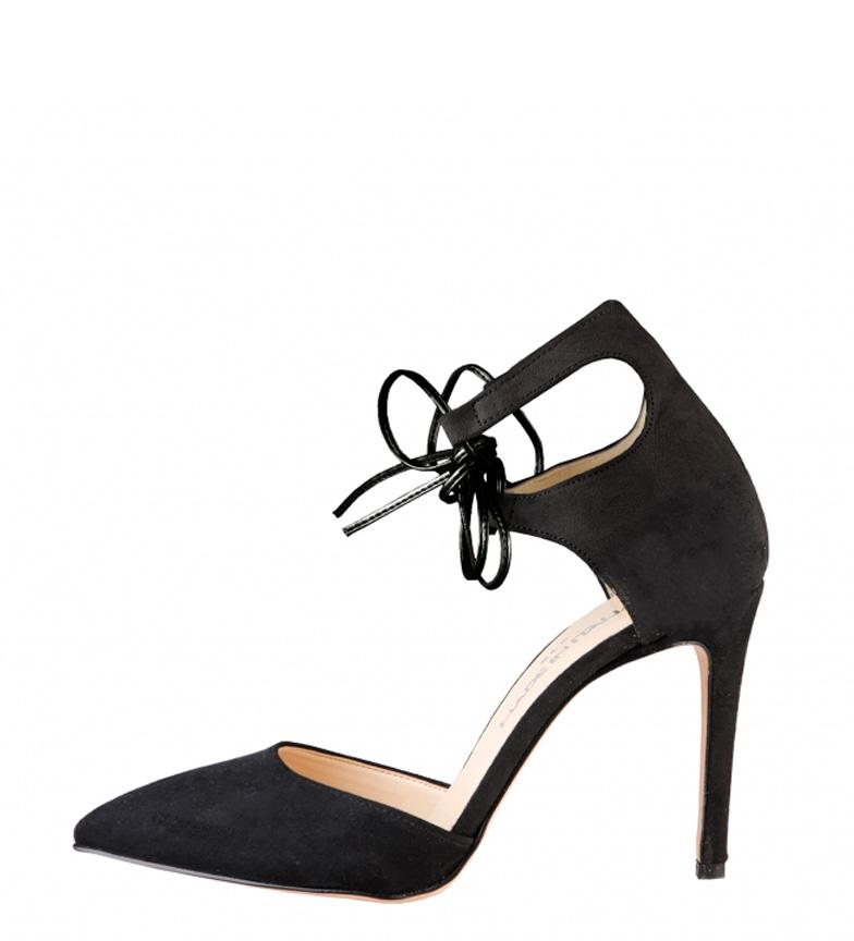 Comprar Made In Italia Berenice Chaussures à talons noires -Hauteur: 10cm-