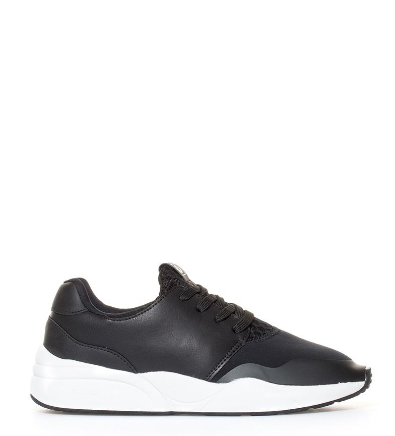Victoria Sneakers de neopreno negro