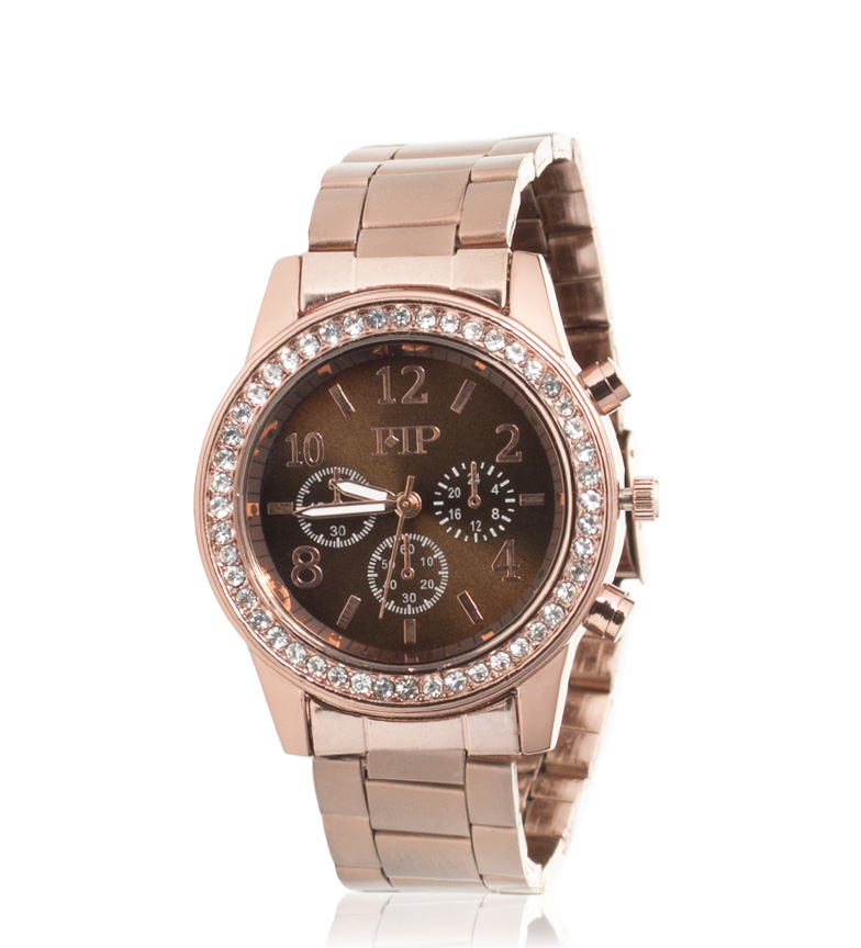 Comprar Marsan Piel Reloj analógico Petite Cobre