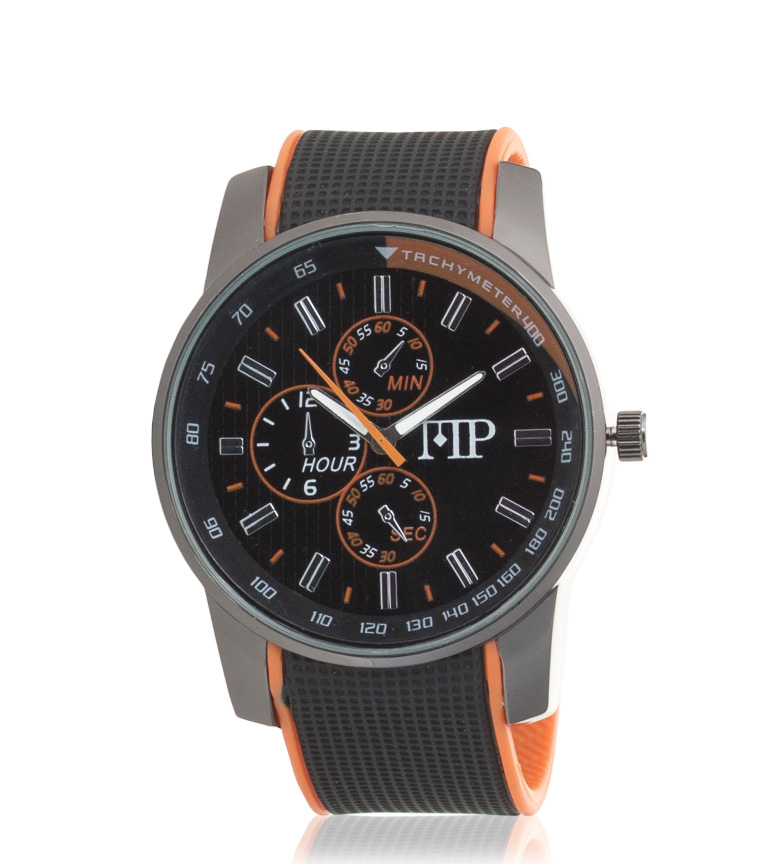Comprar Marsan Piel Analog Clock Genius Orange