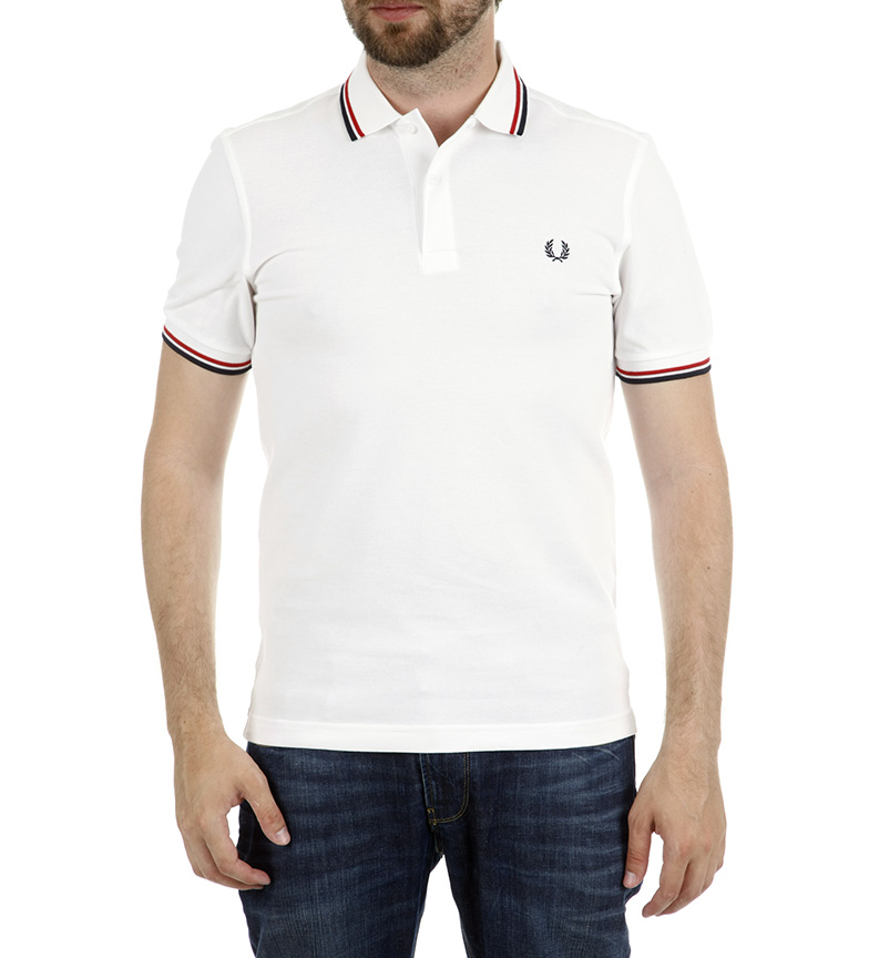 Fred Perry Polo M3600 Gris Claro for fint K2HsiIuk5