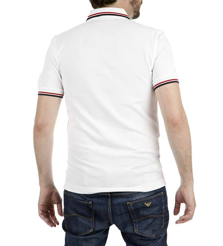 Fred Perry Polo Polo M3600 Blanco Perry Blanco Fred Fred M3600 Perry qSUzVpM