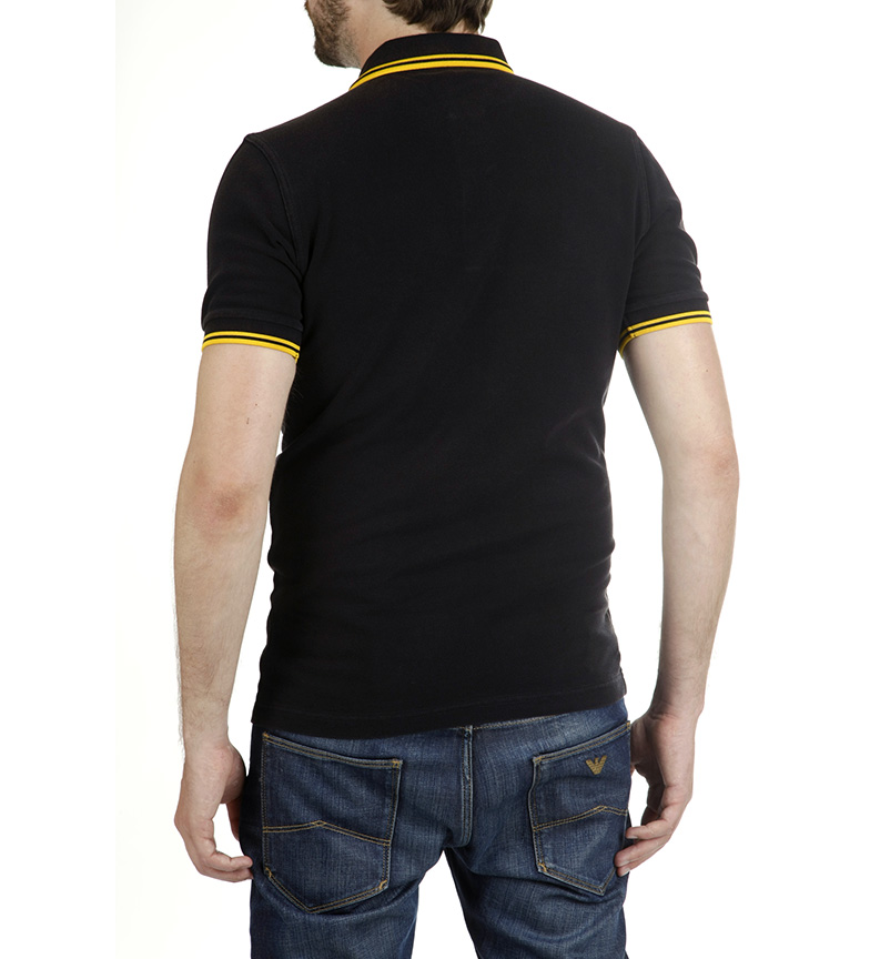 klassiker for salg 2015 nye online Fred Perry Polo M3600 Neger dSOubX