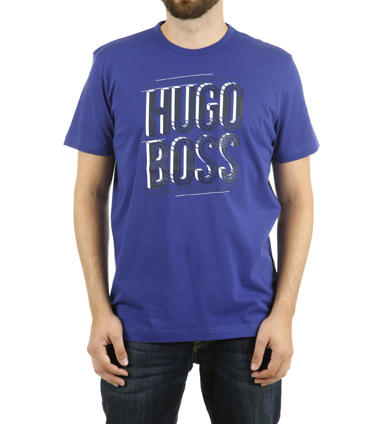 Comprar Hugo Boss Camiseta Tee 2 azul royal