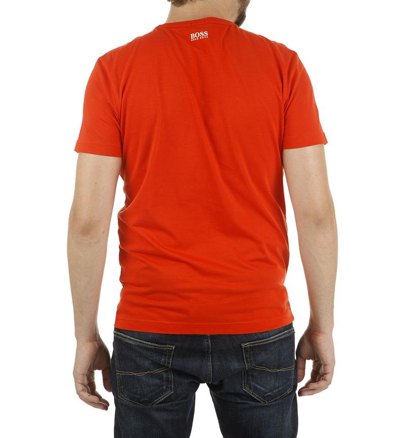 Hugo Boss Camiseta Tee 2 naranja