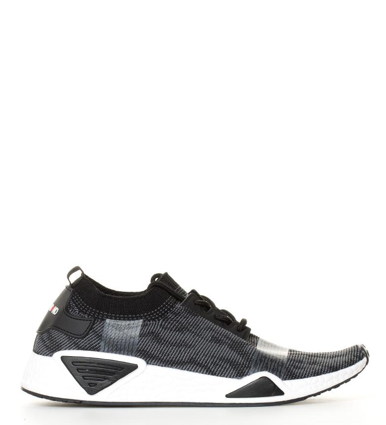 Hakimono Zapatillas Ushi mesh gris, negro