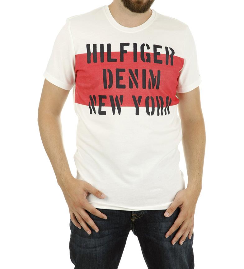 Tommy Hilfiger Camiseta Dongeri New York Marino Kjøp 6glo26DLn