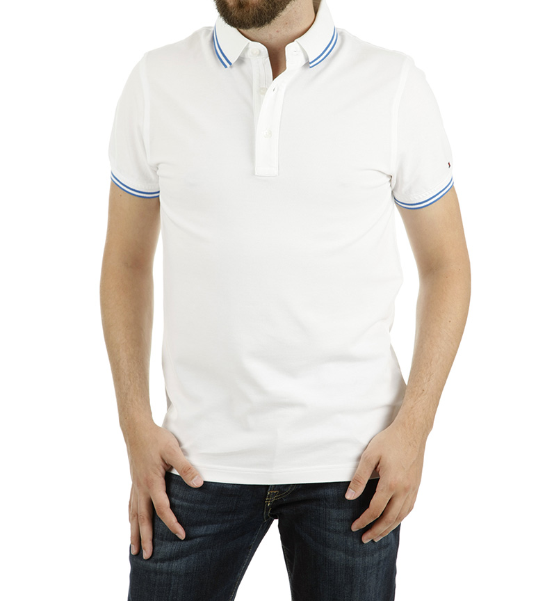 Blanco Tommy Tommy Hilfiger Polo Oxford YWDH9IE2