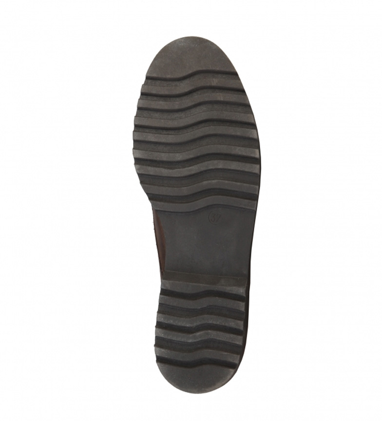 Renata Made In Piel Zapatos Italia Marrn De tQshrd