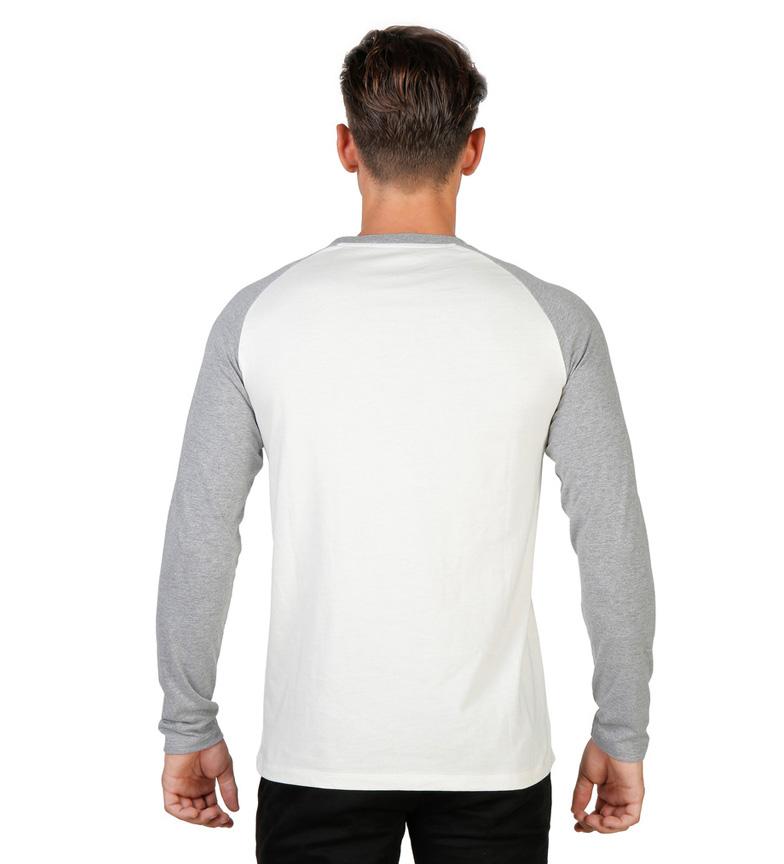 Oxford University Camiseta Trinity Collage blanco, gris