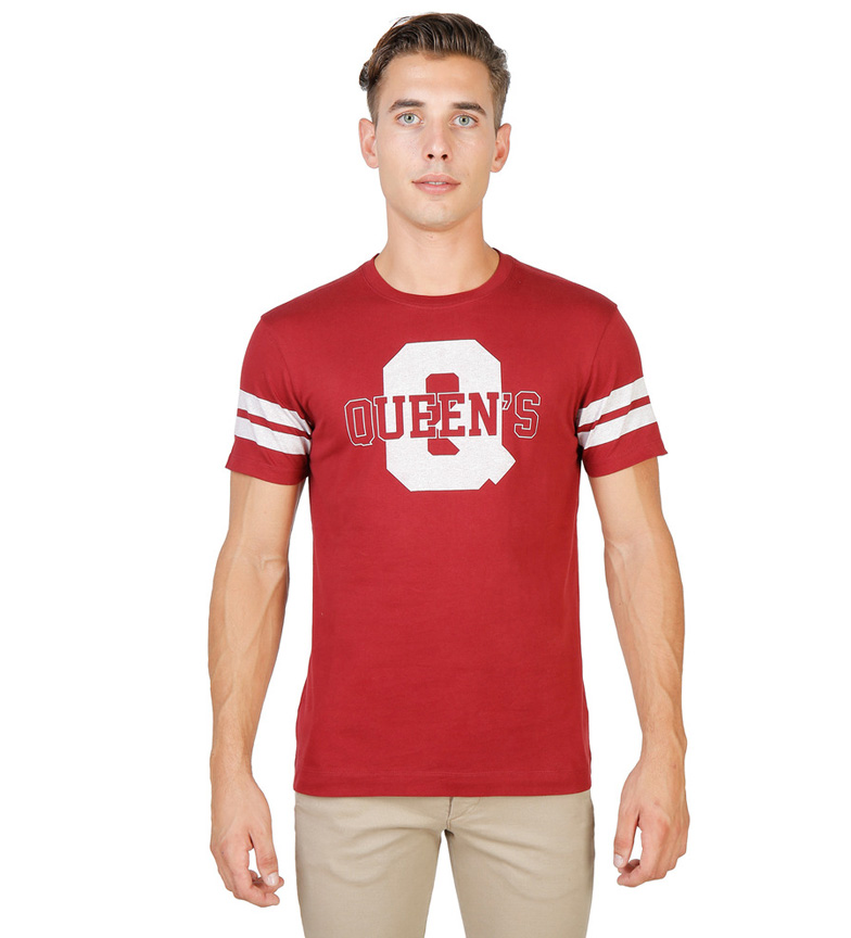 Comprar Oxford University Camiseta Queens Q rojo