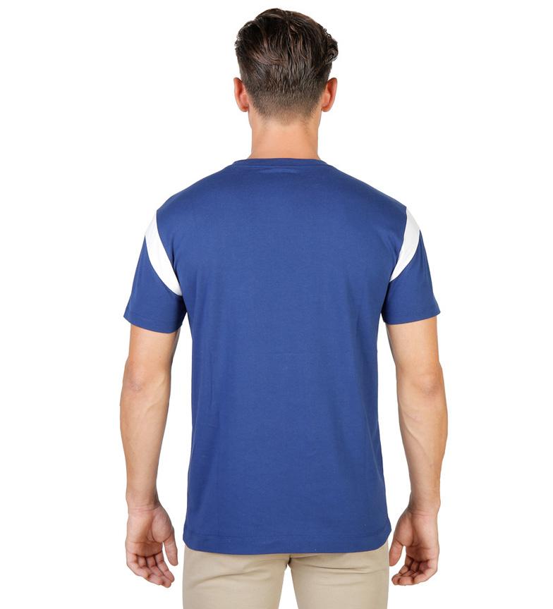 Oxford Camiseta Varsity Azul Queens University kOPuXiZ