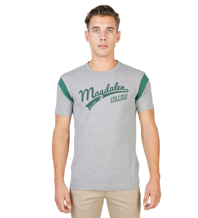 Comprar Oxford University Camiseta Magdalen Varsity gris
