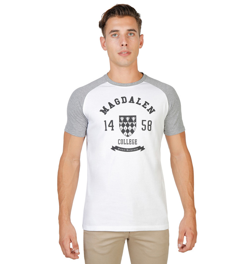 Oxford University Camiseta Oriel 1326 blanco