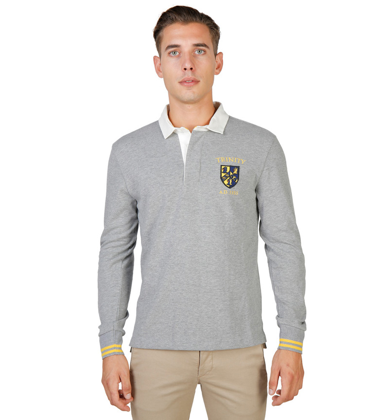 Comprar Oxford University Trinity Polo 1555 Grey
