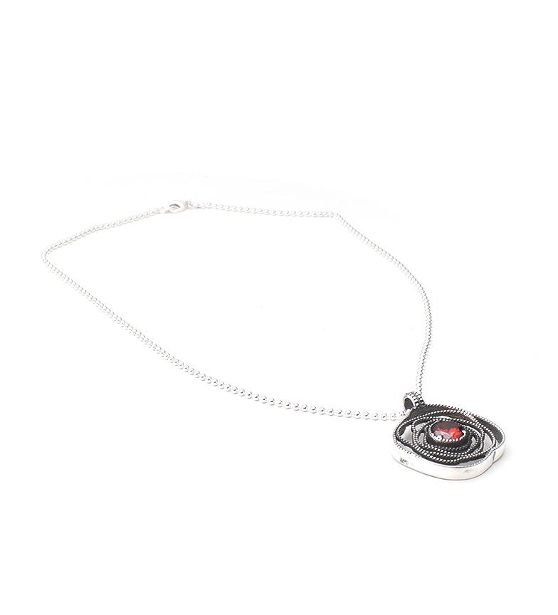 Comprar Yocari Silver pink necklace