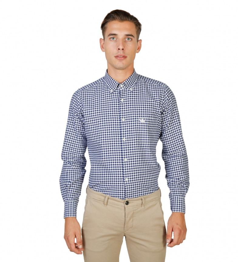 Oxford University Camisa Seth azul