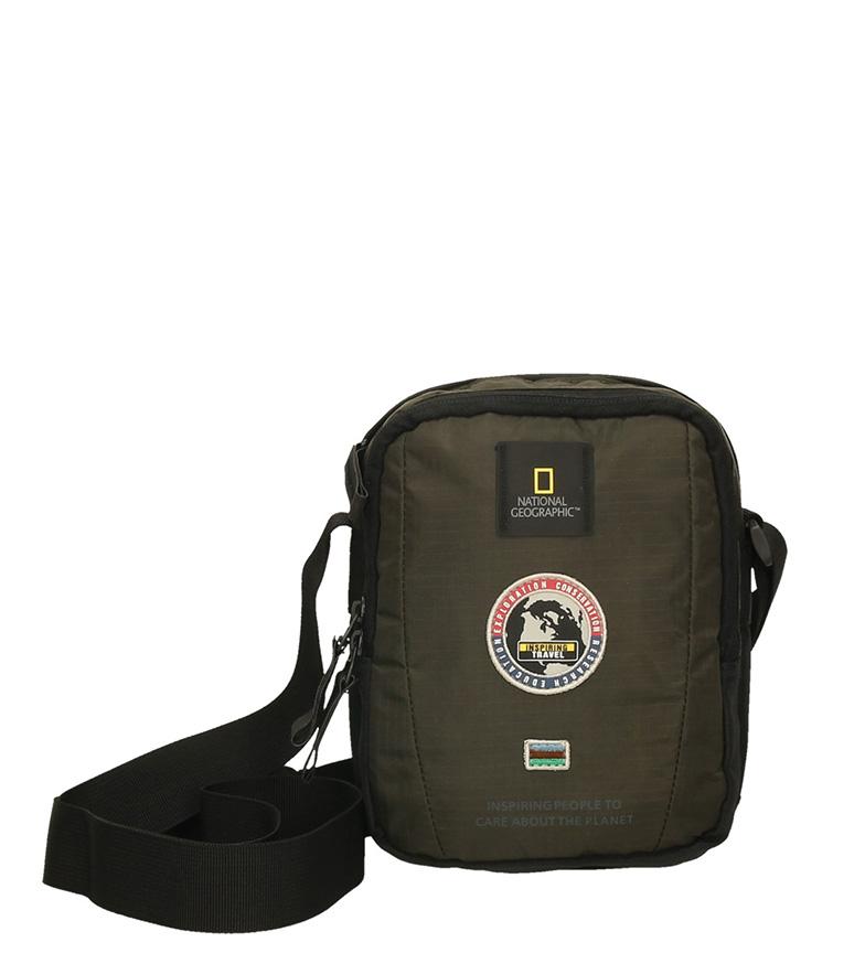 Comprar National Geographic Explorador saco de ombro kaki-17x10x21cm-