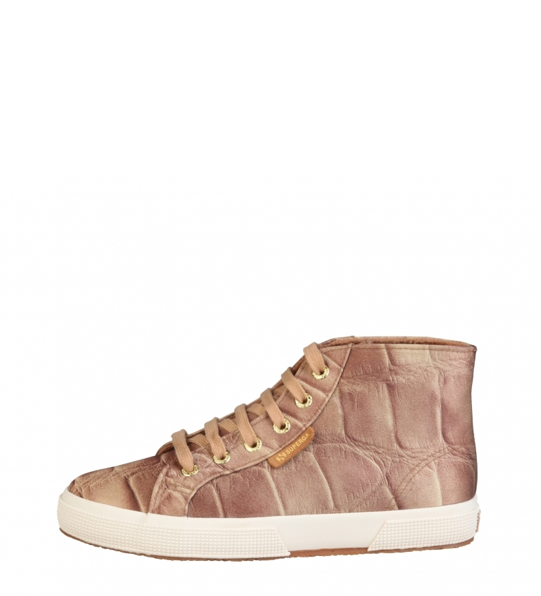 Superga Oro ciabatte colorate beige Donna