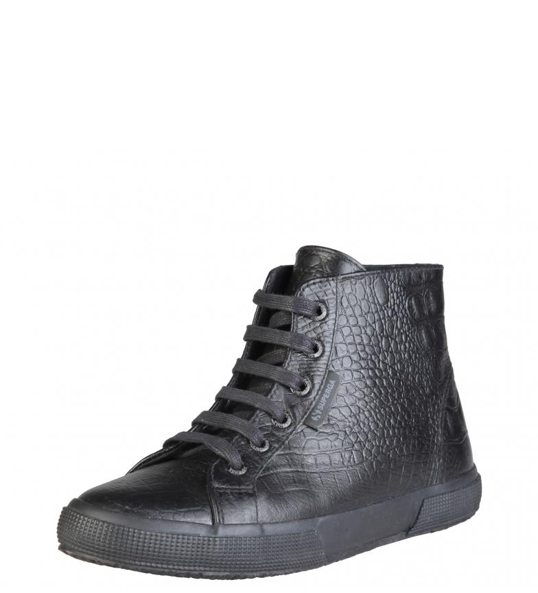 color black total de i Superga Zapatillas i cuero g1RFwtxtYn