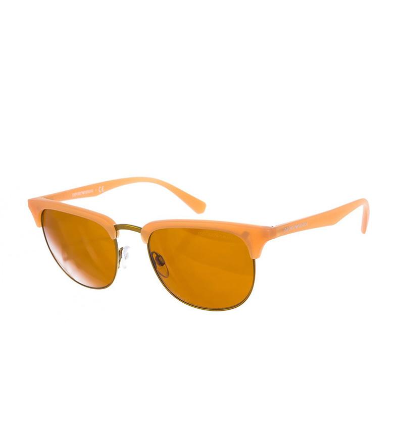 Emporio Armani Gafas de sol EA4072-55017 dorado, naranja