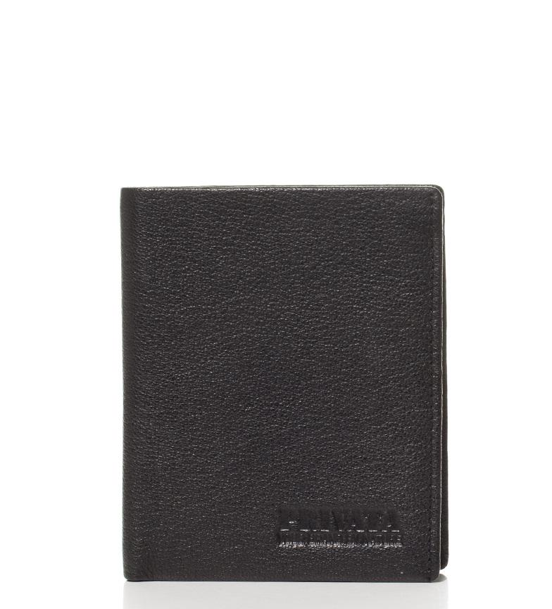 Comprar Privata Buffalo portafoglio in pelle nera-10,5x8 Spray cm-