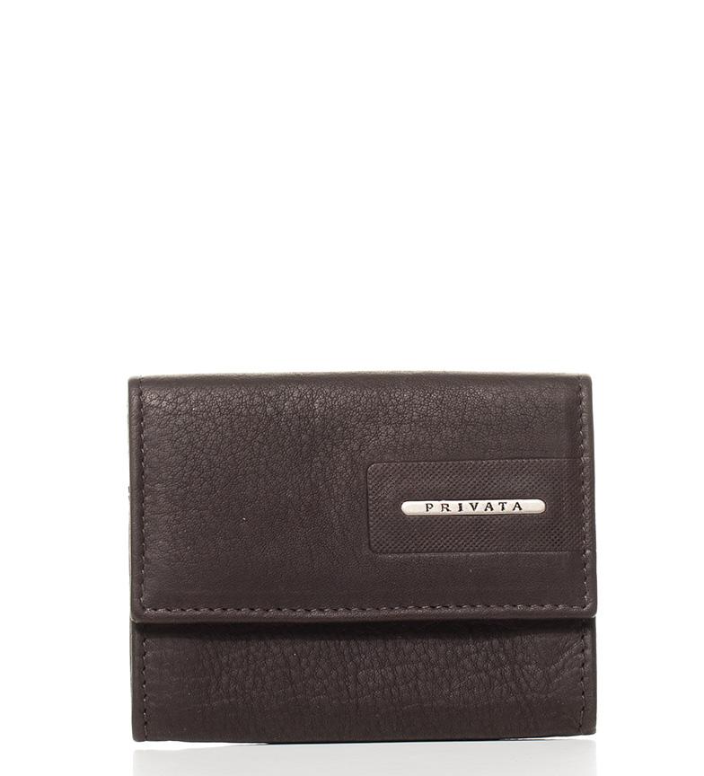 Comprar Privata Points sac à main en cuir Nappa brun 7,5x9,5 cm
