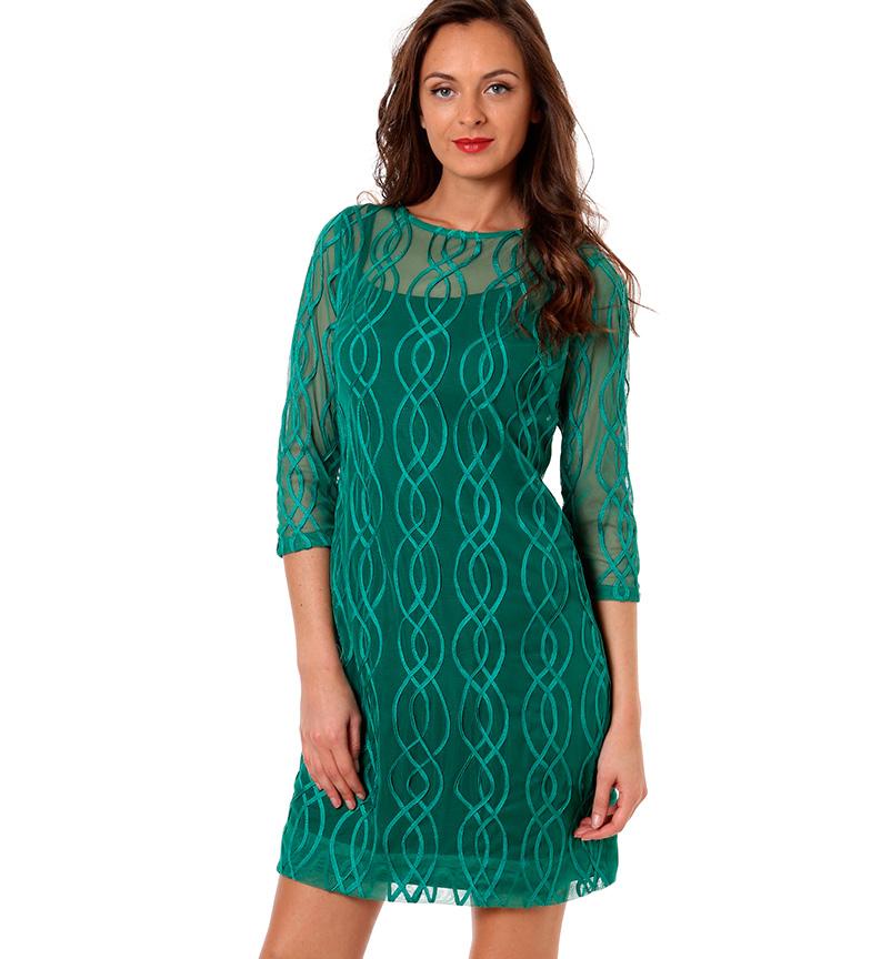 Almatrichi Vestido Esmeralda verde