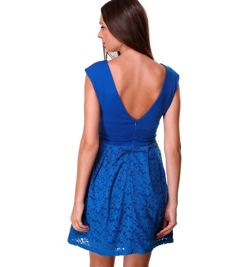 Almatrichi Vestido Valentina azul