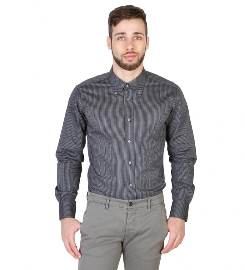 Von Furstenberg Camisa color gris