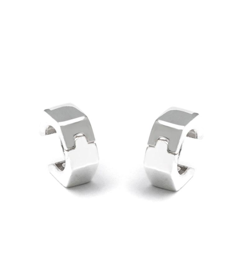 Comprar Prestige By Yocari Boucles d'oreilles en argent Hexagonal