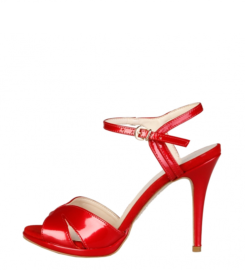 Comprar Made In Italia Talon perle -height sandales rouges: 10cm-