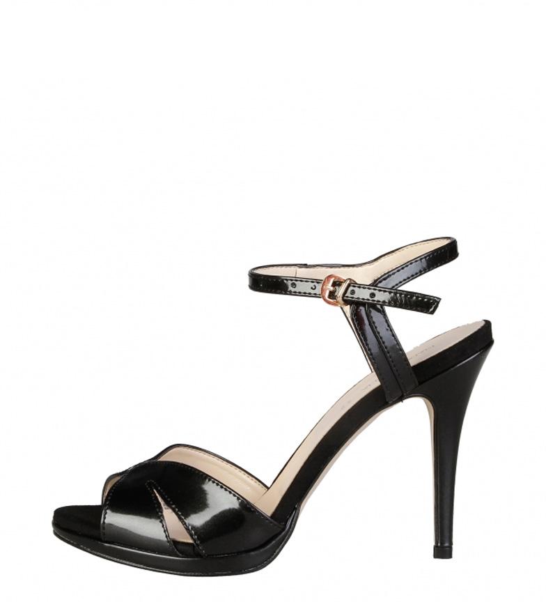 Comprar Made In Italia Sandals Black Pearl -Heel Heel Height: 10cm-