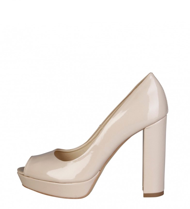 Comprar Made In Italia Mia sapato de salto + plataforma -Altura bege: 11cm-