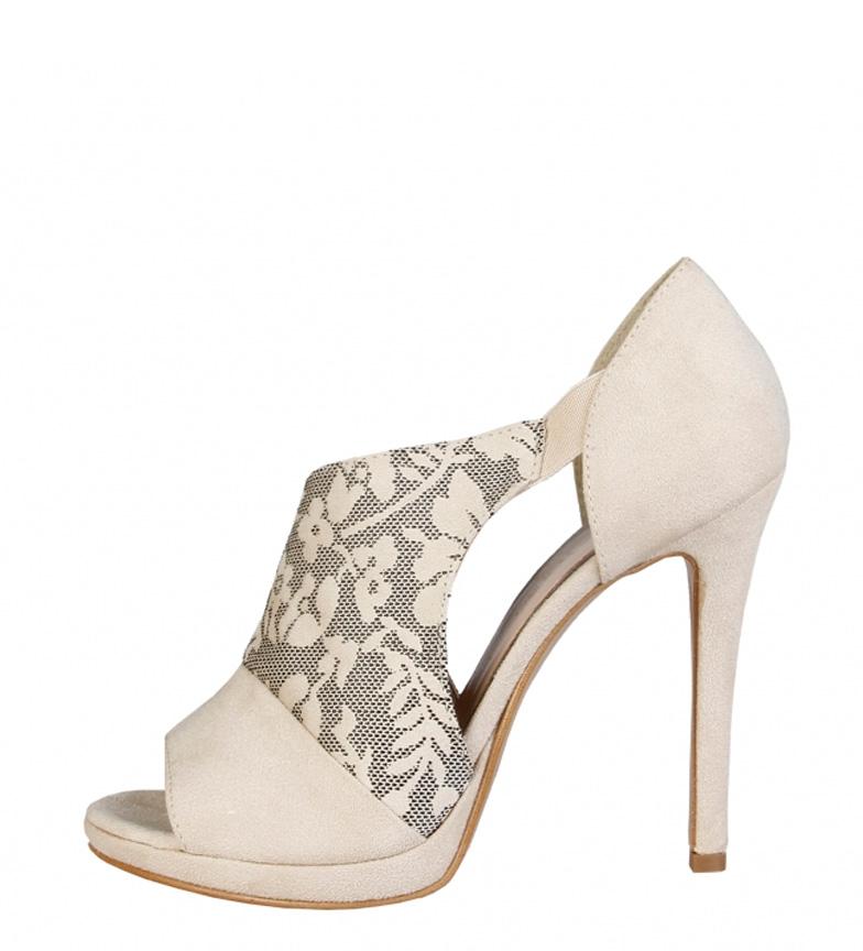 Comprar Made In Italia Iole beige sandals -Heel height: 11.5cm-