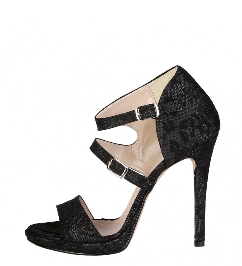 Comprar Made In Italia Sandali con tacco nero Iride-Altezza: 11,5cm-