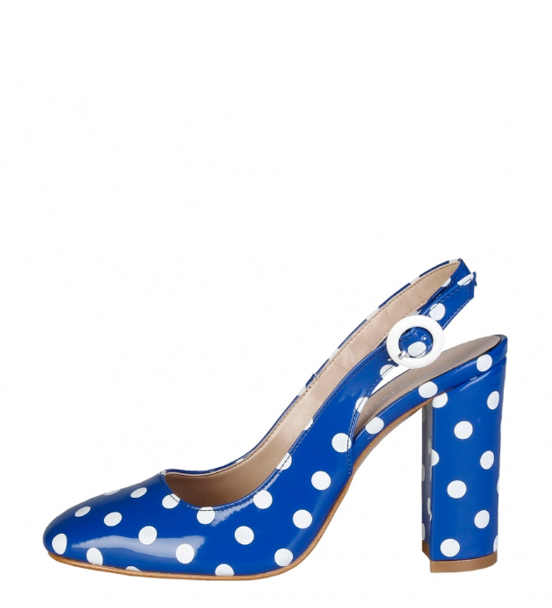 Comprar Made In Italia Zapatos Mina azul -Altura tacón: 10cm-