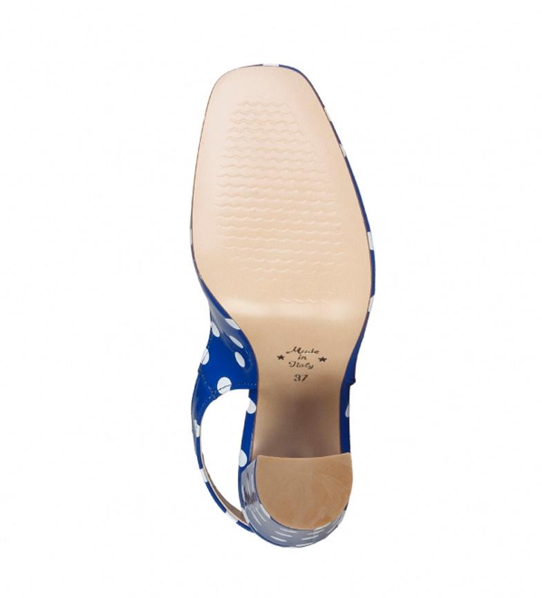 Italia Zapatos In Azulaltura Tacn10cm Mina Made Yf7vbgI6y