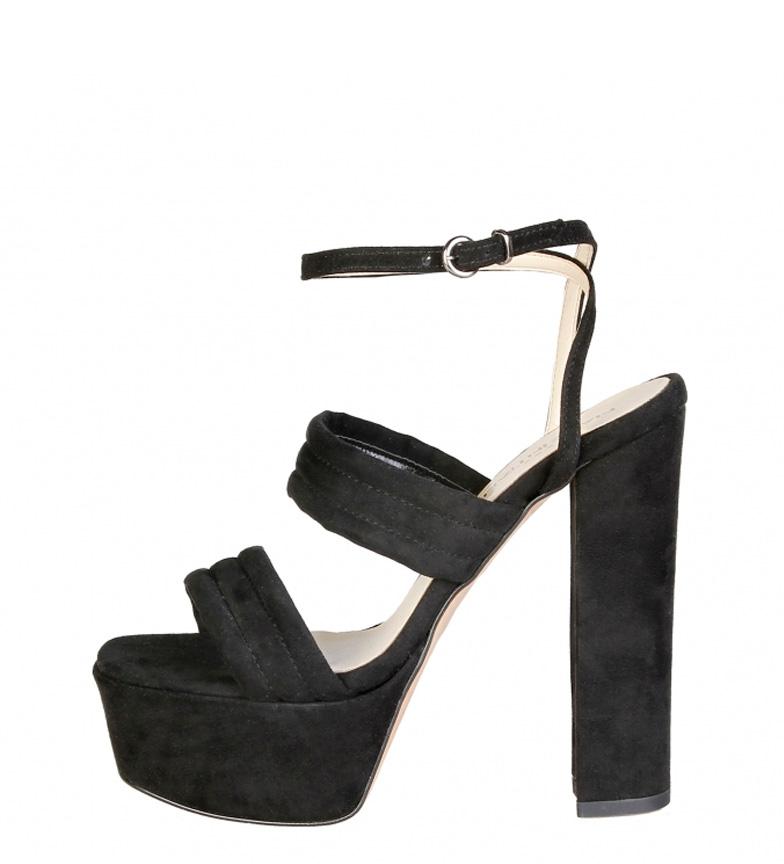 Comprar Made In Italia Fedora Sandals Black-Heel Heel + Platform: 15cm-