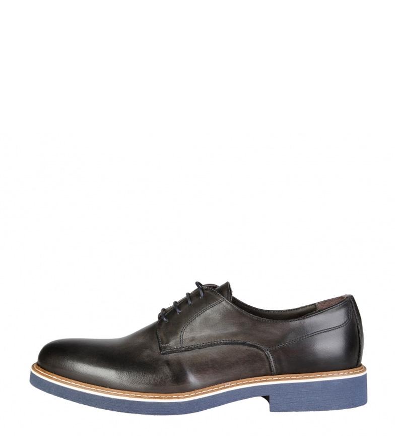 Comprar Made In Italia Zapatos de piel Emilio gris